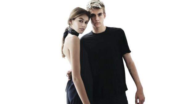 Kaia y Presley Gerber