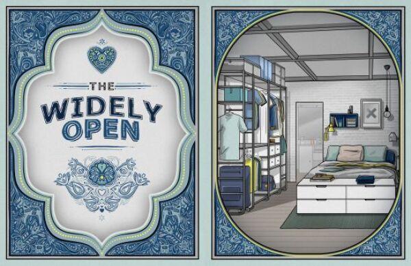 widley open