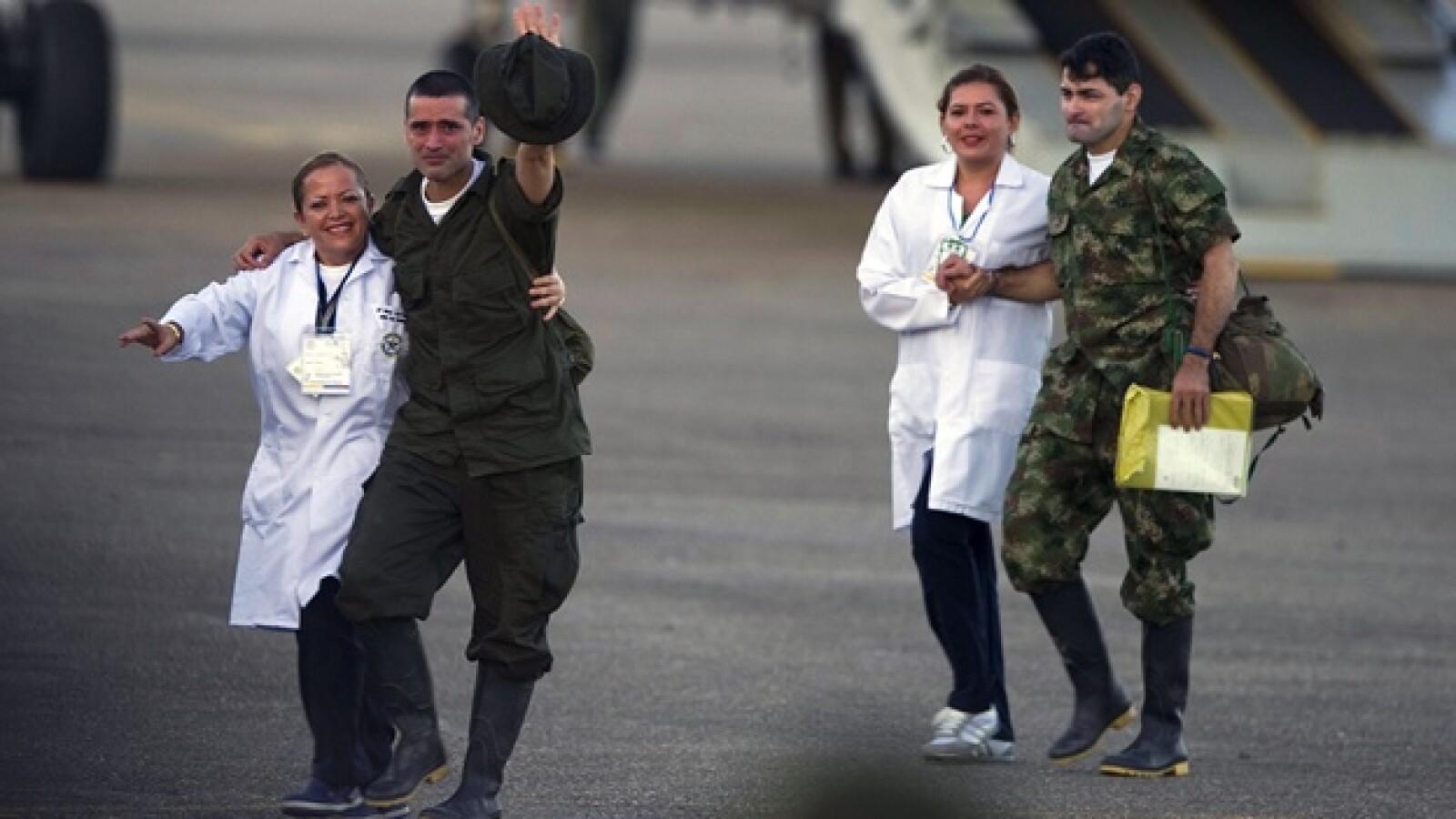 colombia farc secuestrados libres