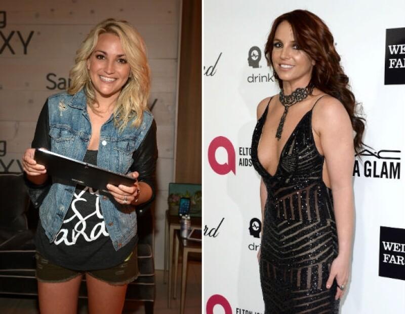 Jamie Lynn y Britney se convirtieron muy jóvenes en madres.