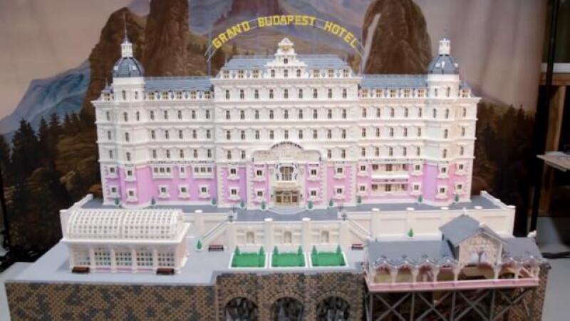 Hotel Budapest Lego