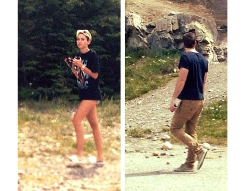 A través de una fan que compartió imágenes en Twitter pudimos enterarnos de que la cantante se reencontró con su prometido en dicho país donde se encuentra filmando.