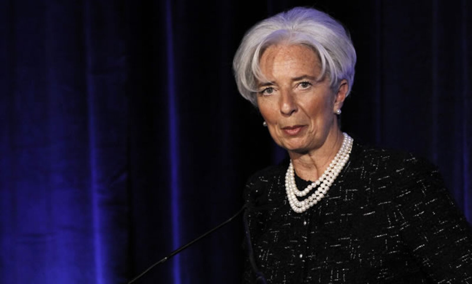 Encabeza el Fondo Monetario Internacional (FMI) desde el 5 de julio 2011. Previamente fungió como ministra de Finanzas de Francia. La revista Forbes la nombró entre las mujeres más influyentes del mundo.