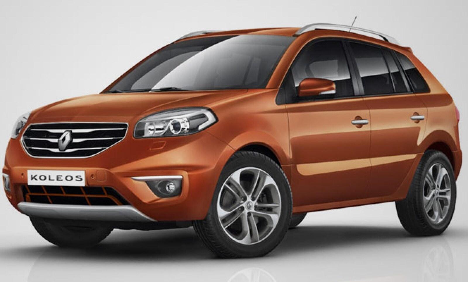 Renault liberó detalles y fotografías del Koleos modelo 2012, el nuevo crossover de la marca que llegará a México a fin de año.