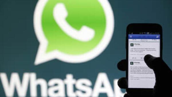 WhatsApp tiene cerca de 450 millones de usuarios en todo el mundo. (Foto: Reuters)