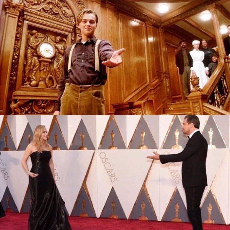 Kate y Leo: una amistad que lleva ya casi 20 años, desde la filmación de Titanic.