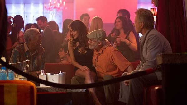 Michael Douglas, Morgan Freeman y Kevin Kline en 'Last Vegas'