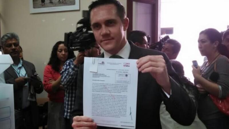 El delegado buscará obtener la diputación por el Distrito XX