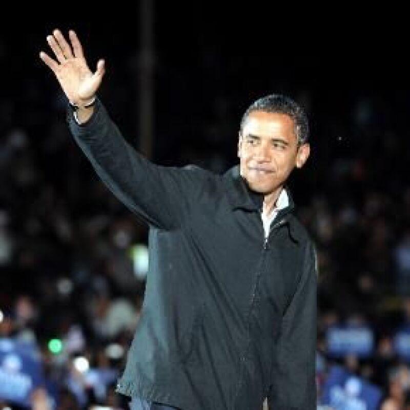 El candidato demócrata se convirtió hoy en el primer mandatario afroamericano electo en Estados Unidos, según proyecciones de las cadenas televisivas.