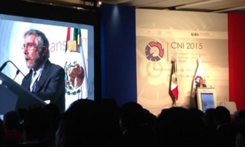 El economista Paul Krugman indica que la situación económica en México no es tan mala.  (Foto: Carmen Luna)