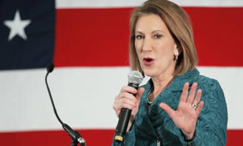 Carly Fiorina ha visitado estados clave para obtener la candidatura republicana. (Foto: Reuters)