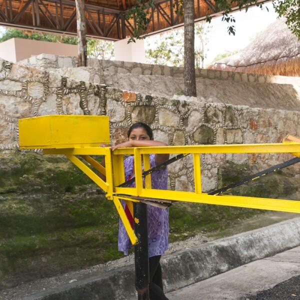 Así es en la actualidad la zona donde se construirá la Estación Calakmul