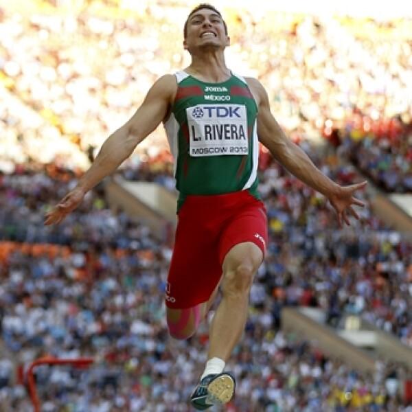 Luis Rivera Mundial de Atletismo Moscu 2013