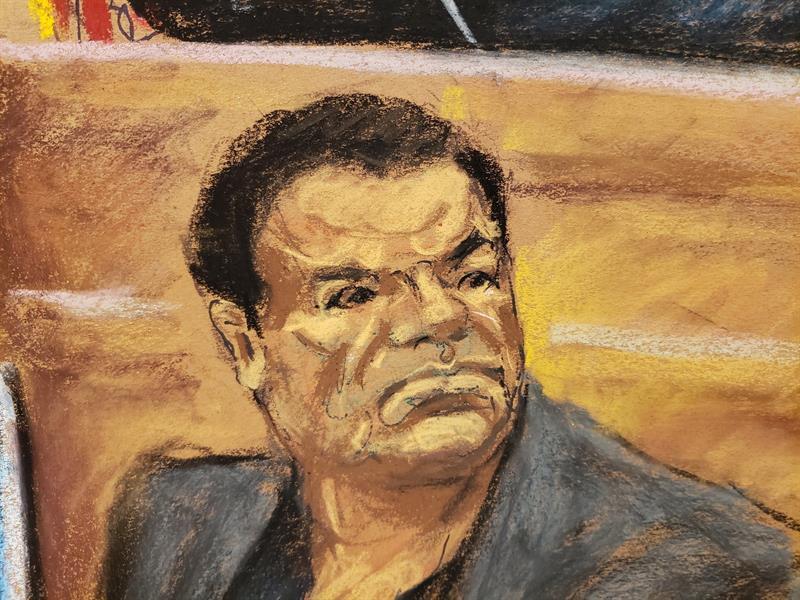 Chupeta Chapo juicio