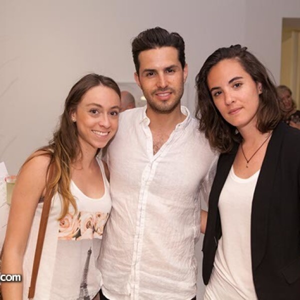 Andrea Arce,Gerónimo Aguilera y Alexia Visone