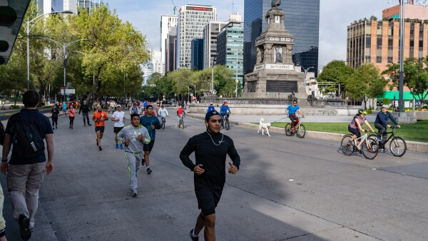 Mexico City Marathon/ Triathlon 19. August