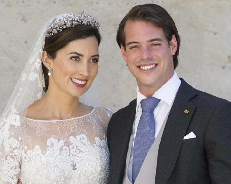 Claire y Félix se casaron el pasado sábado.