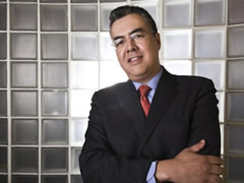 Gerardo Jiménez, director del Instituto Nacional de Medicina Genómica. (Foto: Max Olvera)