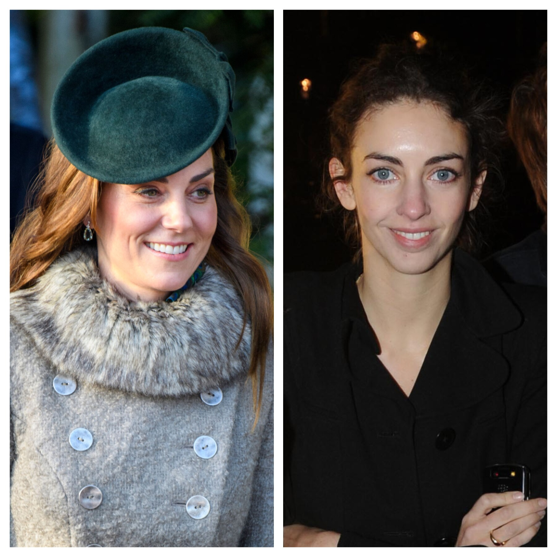 Kate Middleton y Rose Hanbury
