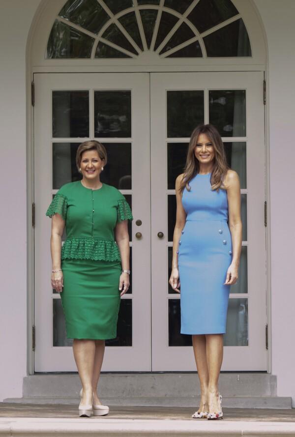 President Trump Hosts Panamanian President Varela At The White House