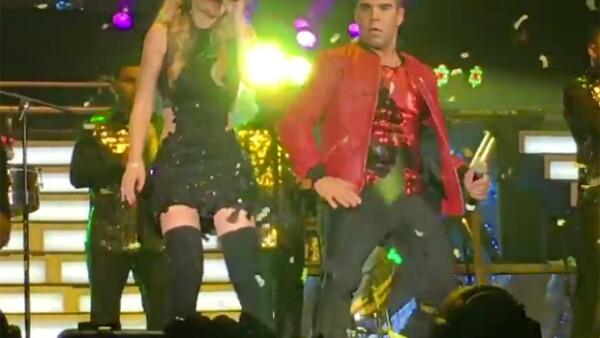 Fue en el concierto de este fin de semana cuando la cantante sorprendió a los asistentes dándoles gusto cuando le pidieron la canción pero esta vez les tenía preparado algo muy especial.