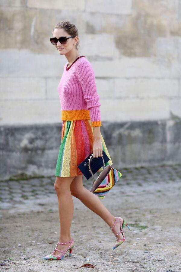 Street Style, Spring Summer 2015, Paris Fashion Week, France - 30 Sep 2014