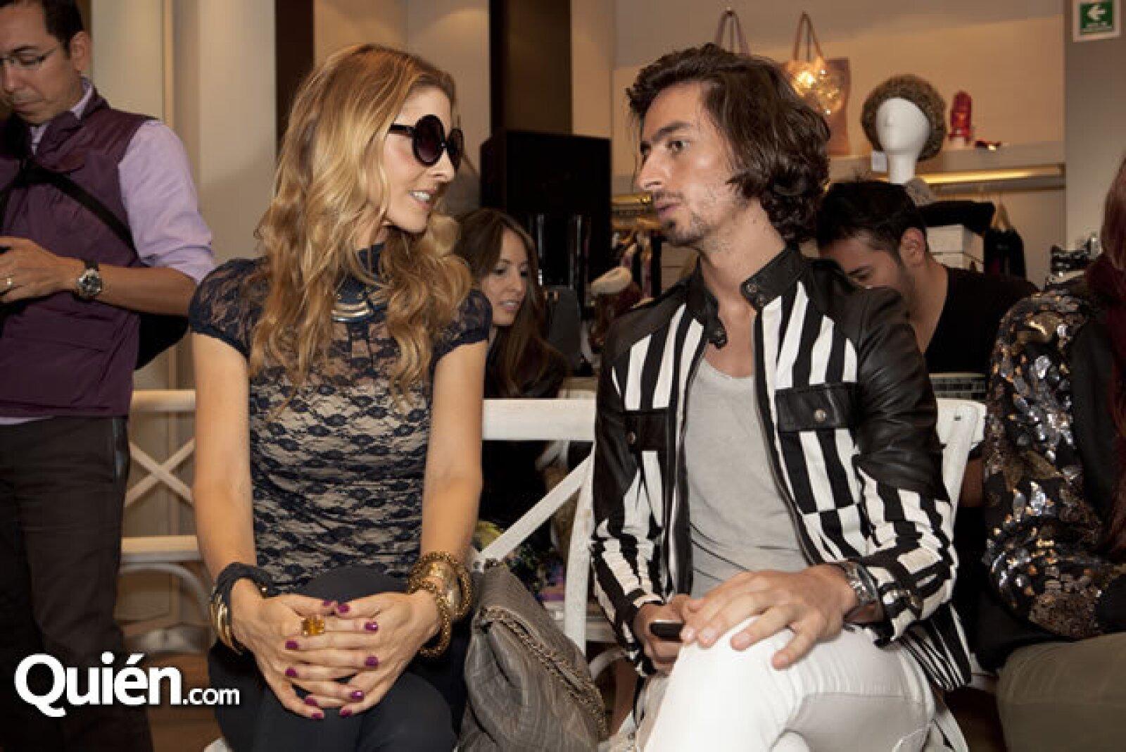 Marcela Cuevas y Kris Goyri