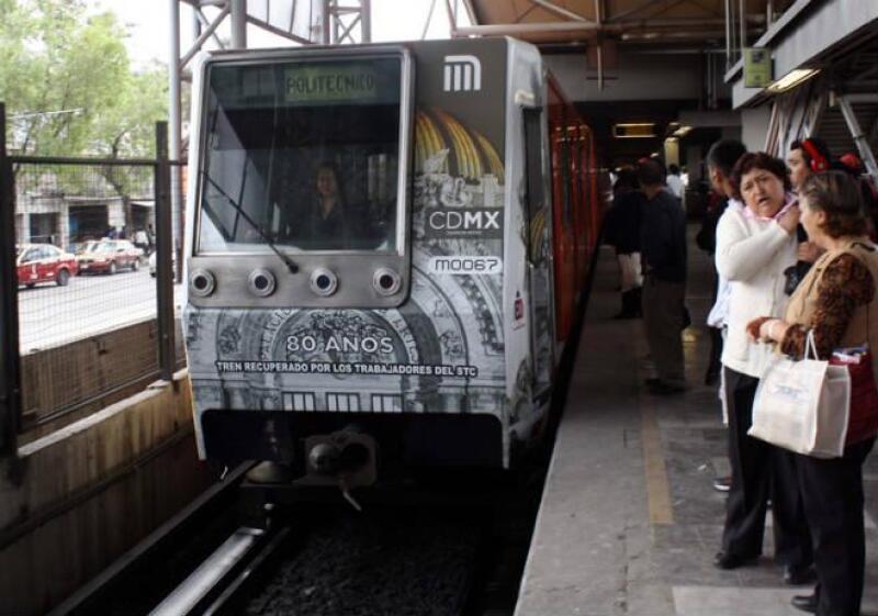 Convoy rehabilitado a L�nea 5 del Metro