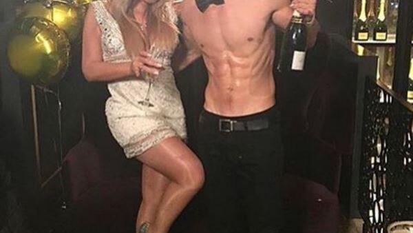 Mariah y el bailarín.
