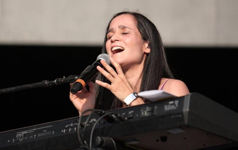 Julieta Venegas fue otra de las voces del festival.