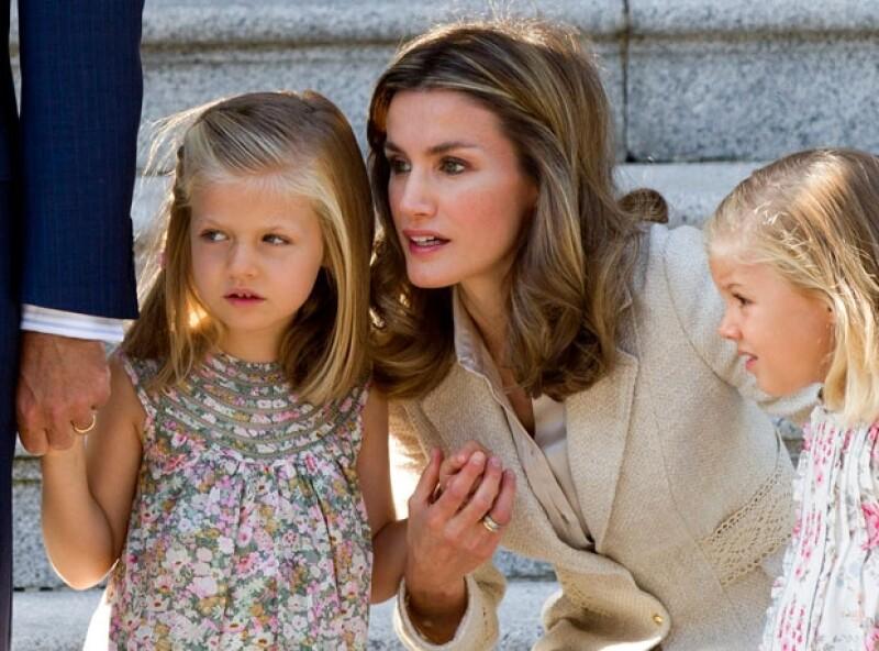 La Princesa es una madre dedicada.