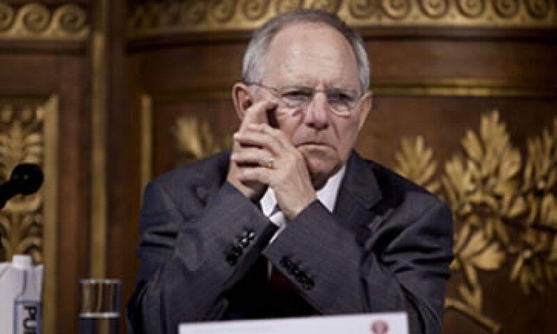 Wolfgang Schäuble fue nombrado como el mejor ministro de la Unión Europea. (Foto: AP)