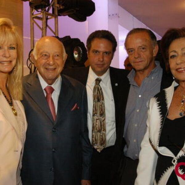 Stephanie Fastlicht, Silvio Berger, Isaac Holoschutz, Rafael Alazraki, Leonora Berger