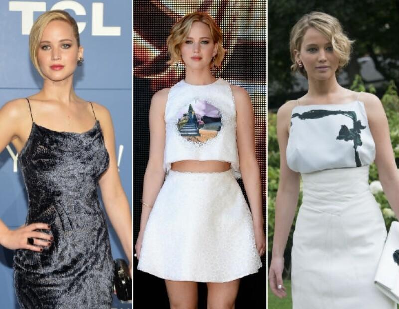 En la premiere de su más reciente película en Londres, la actriz eligió un outfit un poco más sensual de lo que acostumbra, este es su primer evento oficial después del escándalo celebgate.