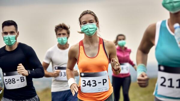 Maratón - carrera - covid-19 - pandemia - coronavirus - corredor - profesionista