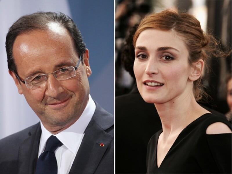 """La actriz francesa Julie Gayet denunciará a la revista """"Closer"""" por airear su supuesta relación con el presidente de Francia, François Hollande, según informó hoy la emisora """"RTL""""."""