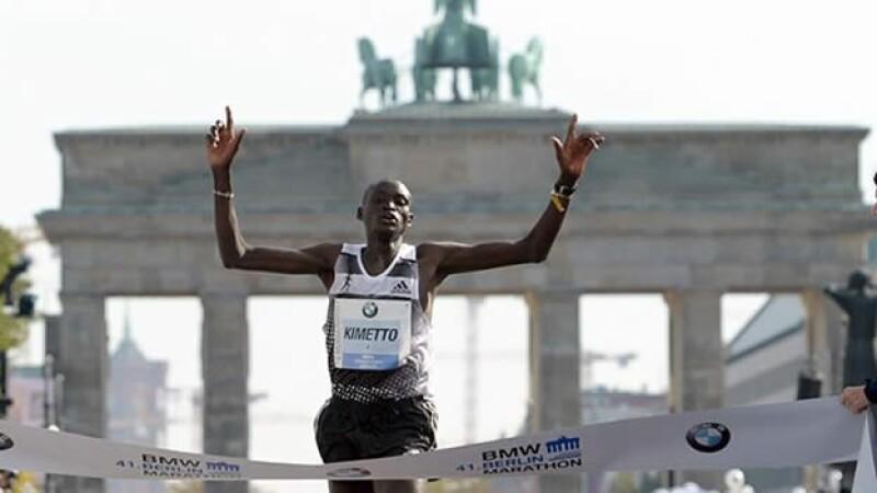 kimetto, record, maratón