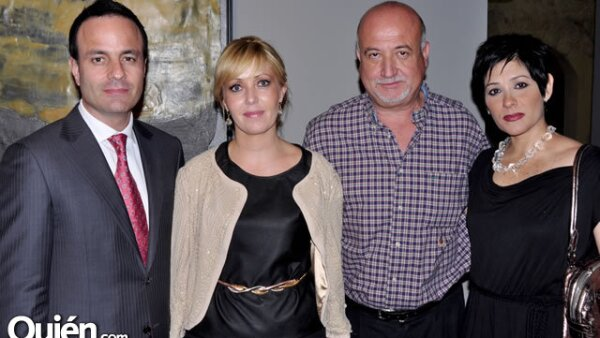 Marcelo Falce, Claudia Tapia Castelo, Ernesto Pérez García y Alejandra Álvarez