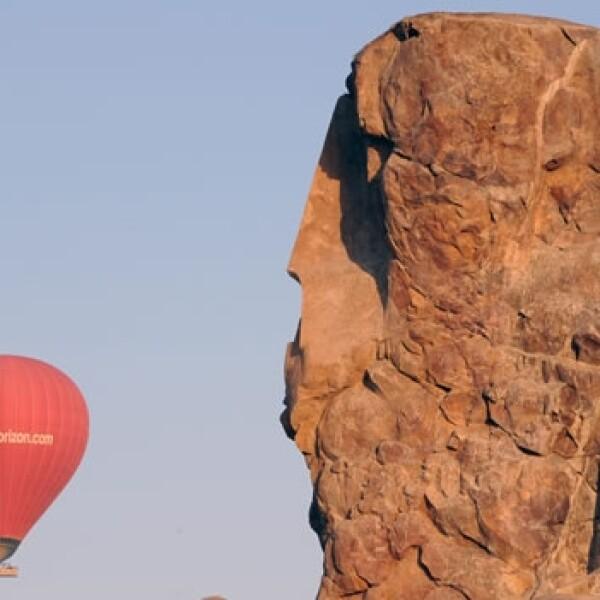 accidente en globo en egipto