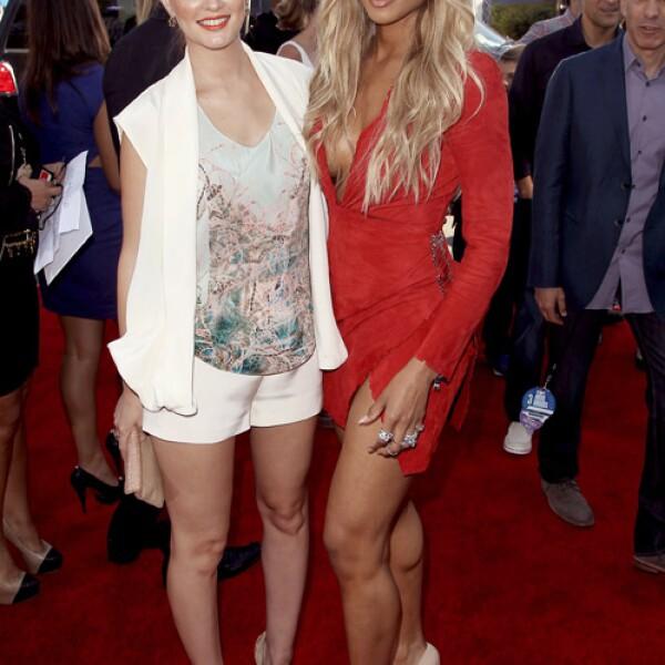 Leighton Meester y Ciara.