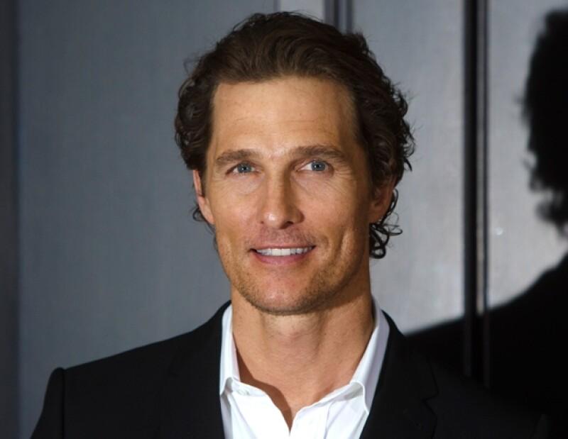 """El lema personal de McConaughey es """"Just Keep Livin""""."""