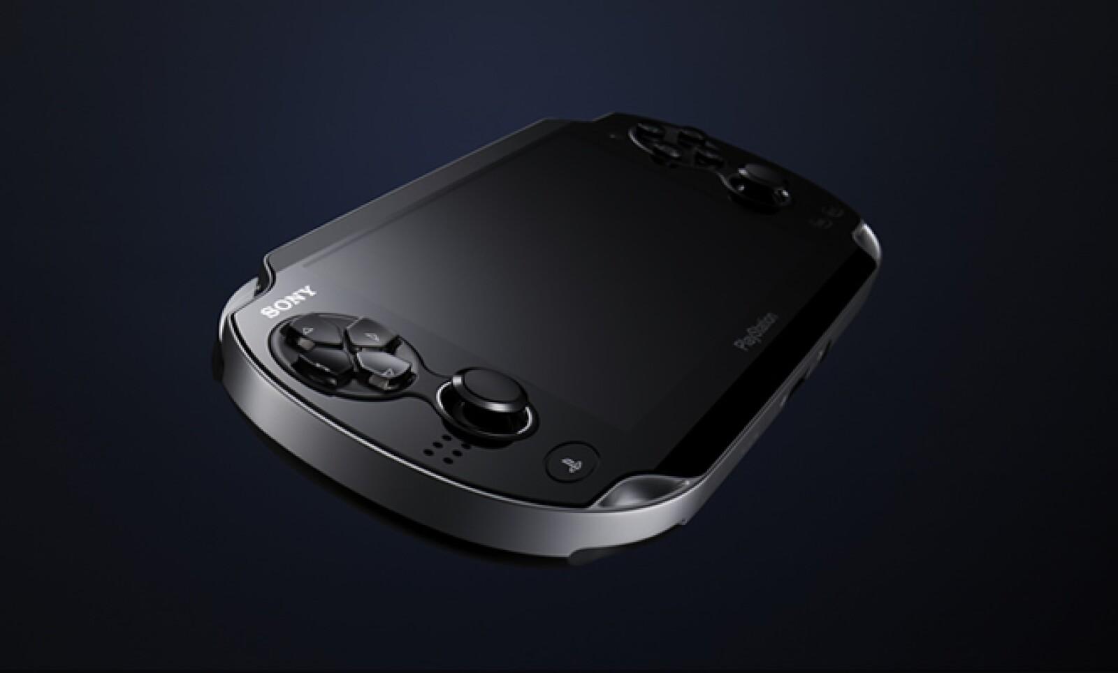 Sony presentó su nueva consola portátil, PSP VITA. Tiene una pantalla táctil tipo OLED de 5 pulgadas al frente y una pantalla táctil en la parte trasera.