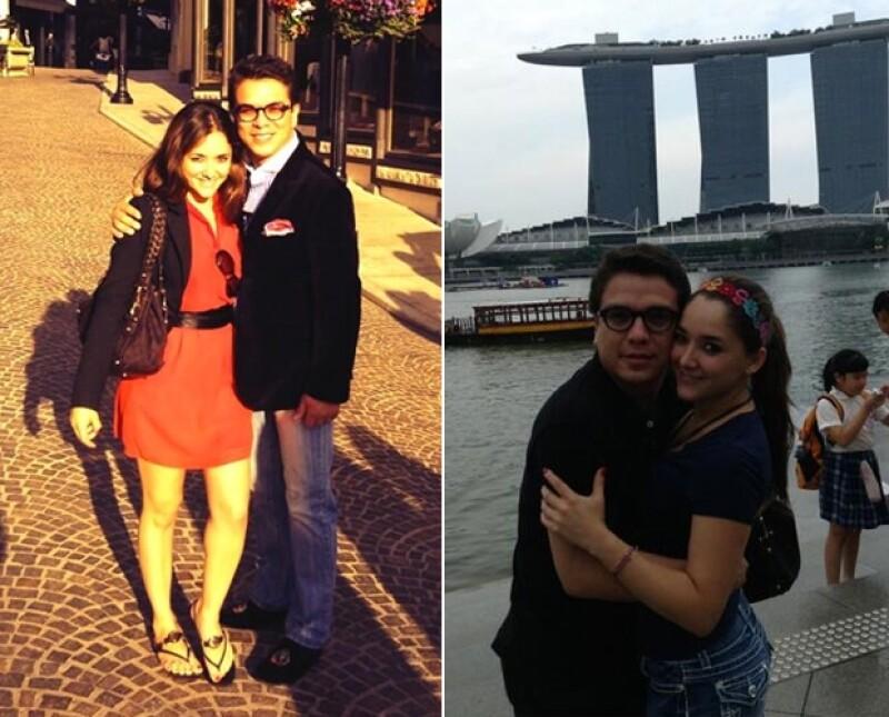 Sus vacaciones empezaron por Estados Unidos y continúan por Indonesia.