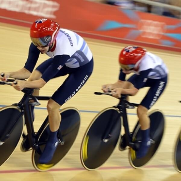 Gran Bretaña persecución ciclismo oro