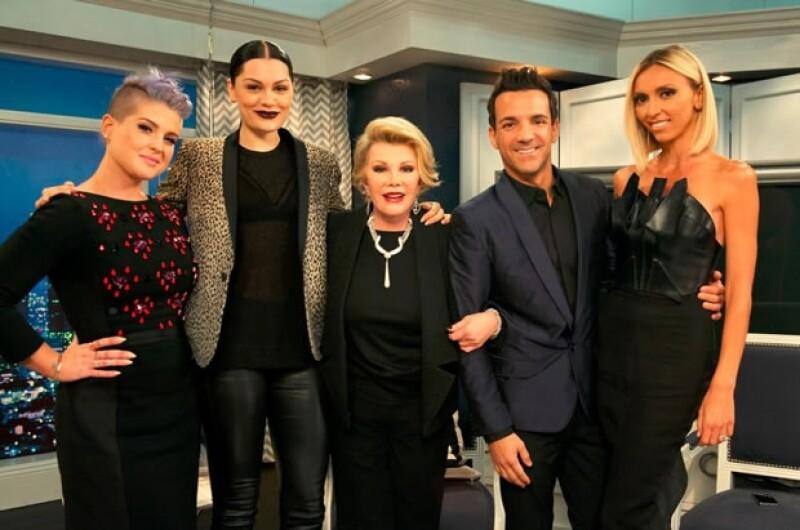 El pasado 26 de agosto fue el último programa de Fashion Police con Joan Rivers como conductora.