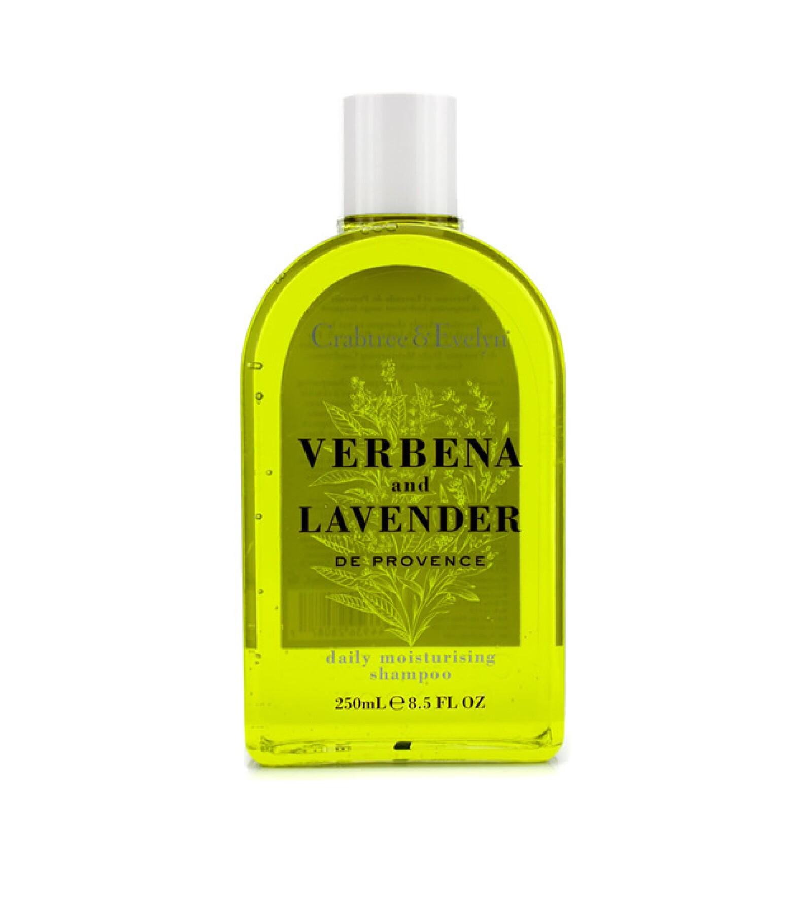 Crabtree & Evelyn: Verbena and Lavender Daily Moisturising Shampoo. 295 pesos. Plaza Carso.