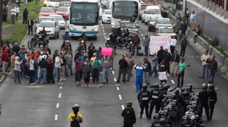 Manifestaciones hoy no circula