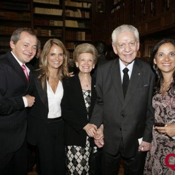 Javier Rodríguez, Martha Castro, María Elena Castro, Fernando Castro, Verónica Castro