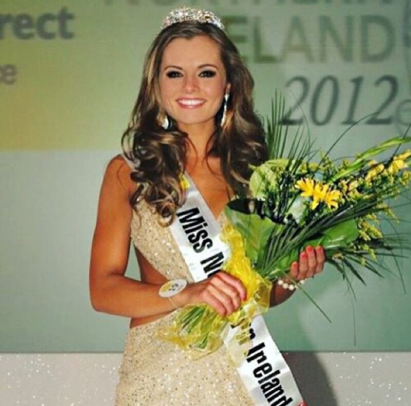 La Ex Miss Irlanda también generó bastante impacto en el internet.