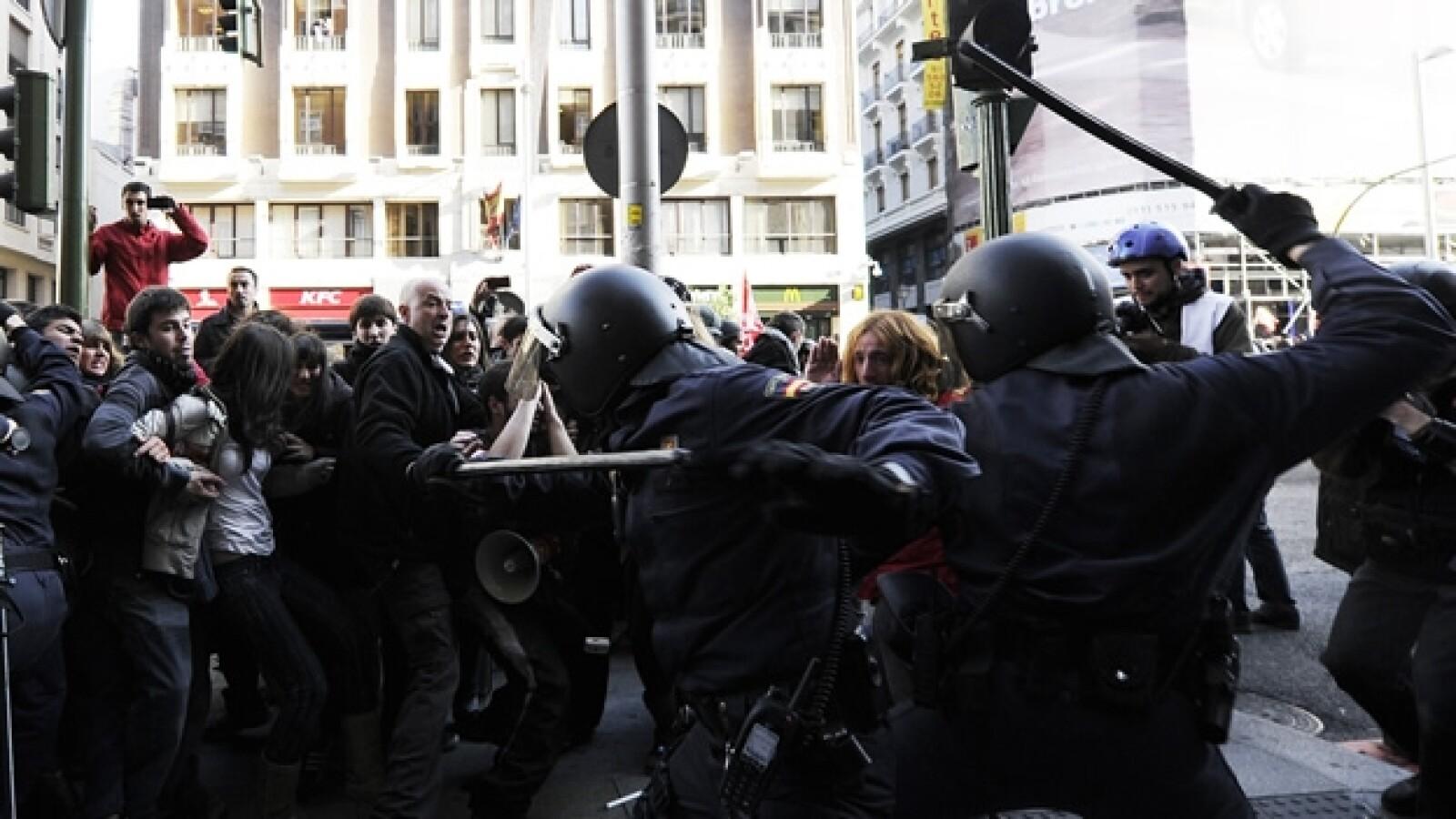 España huelga 14N 2